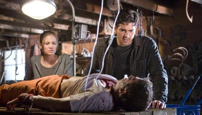 Erica Christensen, Jesse Metcalfe, and Bill Lippincott in The Tortured