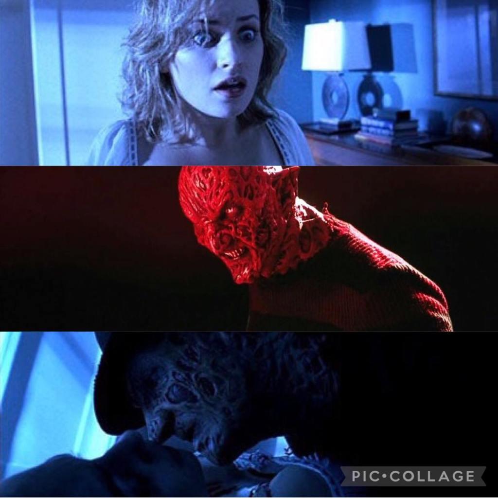 Monica Keena and Robert Englund in Freddy vs. Jason