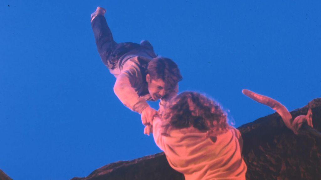 Rodney Eastman and Heather Langenkamp in A Nightmare On Elm Street 3: Dream Warriors