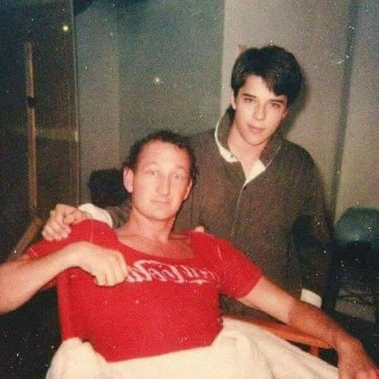 Robert Englund and Rodney Eastman in A Nightmare On Elm Street 3: Dream Warriors