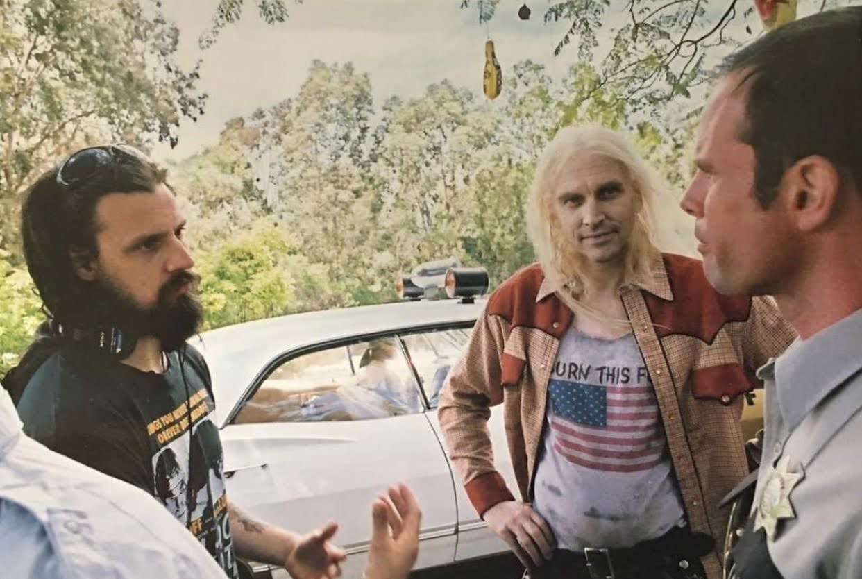 Rob Zombie, Walton Goggins, and Bill Moseley in House Of 1000 Corpses