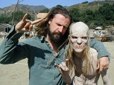 Rob Zombie and Walter Phelan in House Of 1000 Corpses